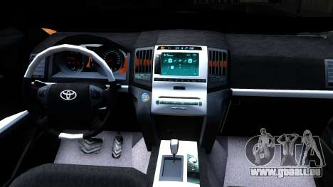 Toyota Land Cruiser Prado pour GTA San Andreas vue intérieure