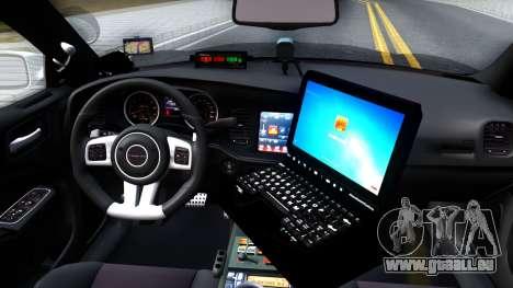 Dodge Charger Rittman Ohio Police 2013 für GTA San Andreas Innenansicht
