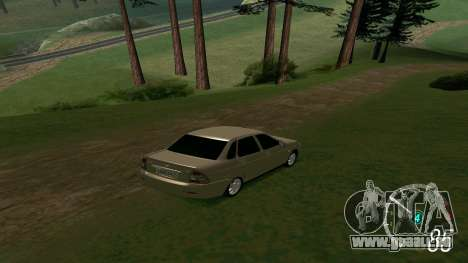 Forza Horizon 3 Speedometer pour GTA San Andreas deuxième écran