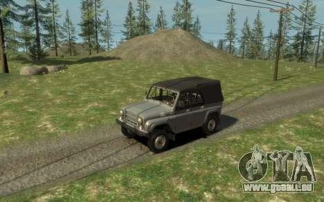 УАЗ 469 (Paul Schwarz prod.) für GTA 4 Rückansicht