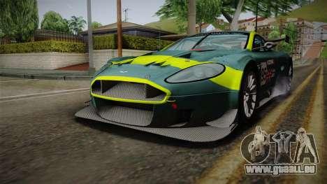 Aston Martin Racing DBRS9 GT3 2006 v1.0.6 pour GTA San Andreas salon