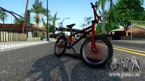BMX Enhance pour GTA San Andreas laissé vue