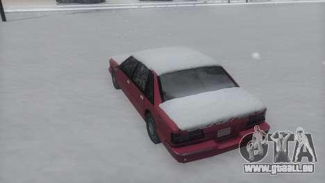 Premier Winter IVF für GTA San Andreas rechten Ansicht