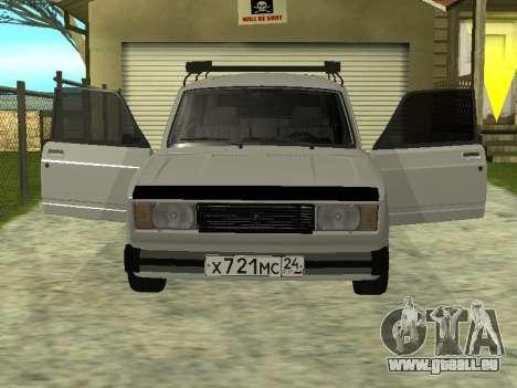 Les VASES 2104 Krasnoyarsk pour GTA San Andreas laissé vue