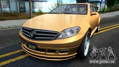 GTA V Benefactor Schafter Wagon pour GTA San Andreas