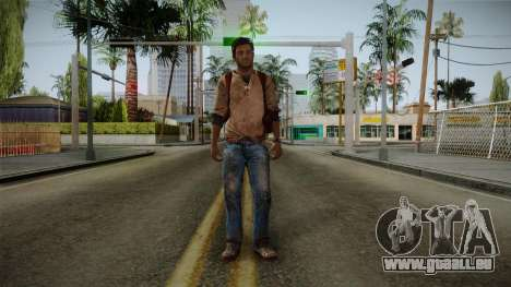 Uncharted Golden Abyss - Nathan Drake für GTA San Andreas zweiten Screenshot