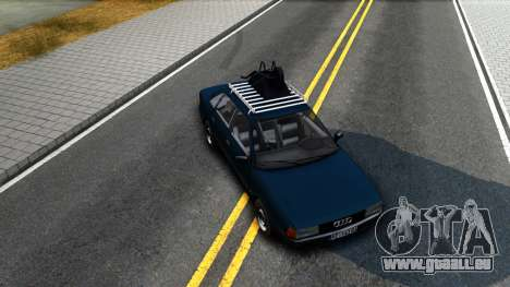 Audi 80 B3 pour GTA San Andreas vue intérieure