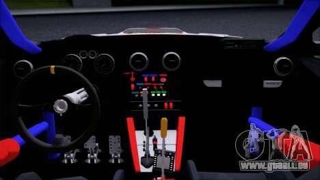Audi RS3 Sportback Rally WRC pour GTA San Andreas vue de droite