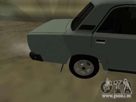 2107 pour GTA San Andreas vue de droite