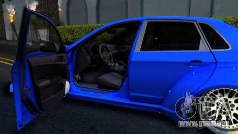Subaru WRX STi Widebody pour GTA San Andreas vue arrière