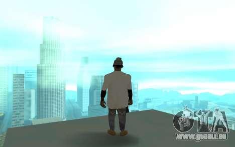 Grove Street Gang Member 2 für GTA San Andreas dritten Screenshot