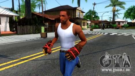 Red Bear Claws Team Fortress 2 pour GTA San Andreas
