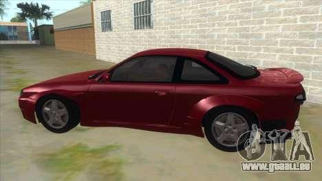 Nissan Silvia S14 Tuned pour GTA San Andreas laissé vue