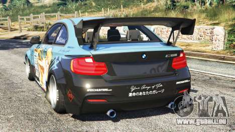 GTA 5 BMW M235i (F87) 69Works [add-on] hinten links Seitenansicht