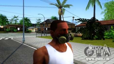 Gas Mask From S.T.A.L.K.E.R. Clear Sky für GTA San Andreas zweiten Screenshot