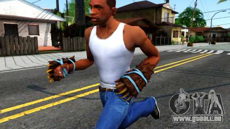 Blue Bear Claws Team Fortress 2 für GTA San Andreas