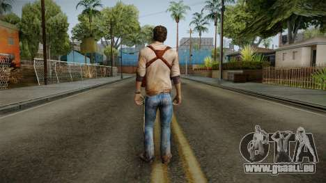 Uncharted Golden Abyss - Nathan Drake für GTA San Andreas dritten Screenshot