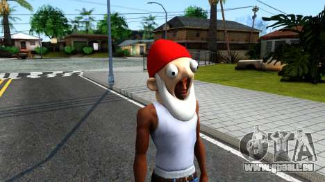 Gnome Mask From The Sims 3 für GTA San Andreas zweiten Screenshot
