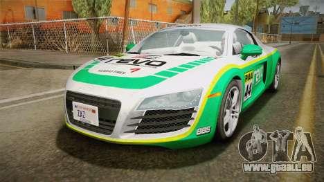Audi R8 Coupe 4.2 FSI quattro US-Spec v1.0.0 v4 für GTA San Andreas Seitenansicht