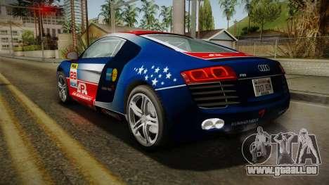 Audi R8 Coupe 4.2 FSI quattro EU-Spec 2008 Dirt pour GTA San Andreas