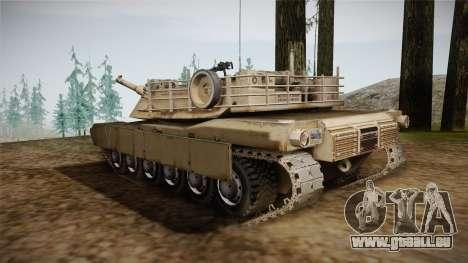 Abrams Tank pour GTA San Andreas laissé vue