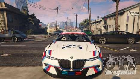 GTA 5 BMW 3.0 CSL Hommage R Concept vorne rechts Seitenansicht