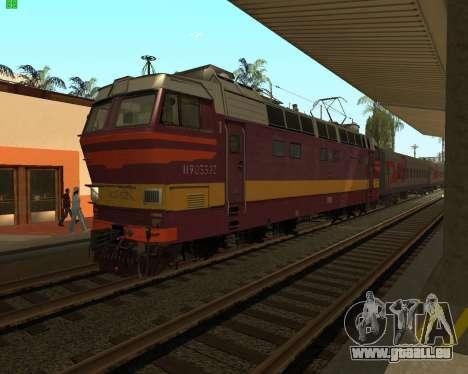 Passenger locomotive CHS4t-521 pour GTA San Andreas