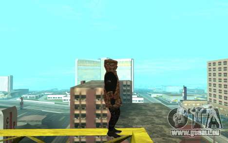 Grove Street Gang pour GTA San Andreas deuxième écran