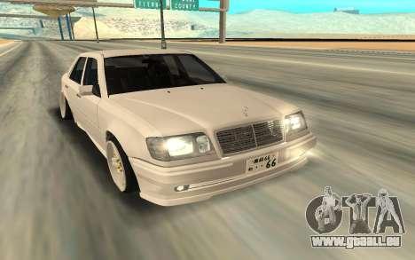 Mercedes-Benz 200 pour GTA San Andreas