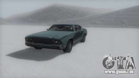 Sabre Winter IVF pour GTA San Andreas vue de droite