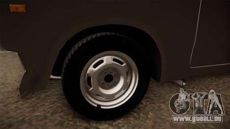 VAZ 2105 Cabrio für GTA San Andreas Rückansicht