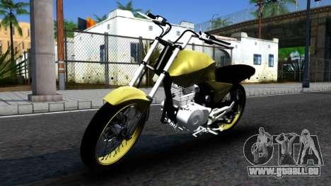 Honda Titan 150 Stunt pour GTA San Andreas