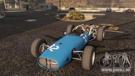 GTA 5 Cooper F12 1967 v2 Rückansicht