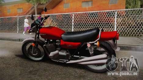 Kawasaki Z1 1975 v1.1 für GTA San Andreas linke Ansicht