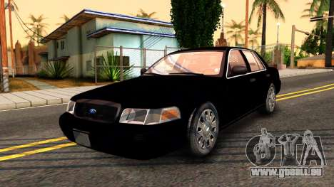 Ford Crown Victoria Detective 2008 pour GTA San Andreas