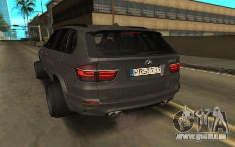 BMW X5 für GTA San Andreas zurück linke Ansicht