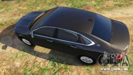 GTA 5 Chevrolet Impala 2015 vue arrière