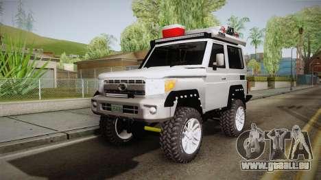 Toyota Land Cruiser Machito 2013 Sound Y pour GTA San Andreas