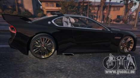 GTA 5 BMW 3.0 CSL Hommage R Concept hinten links Seitenansicht