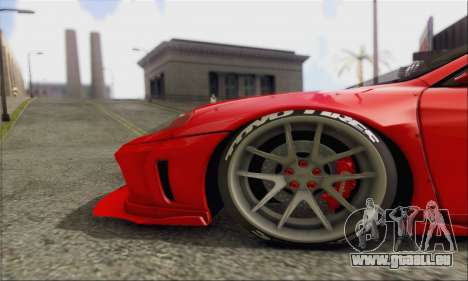 Ferrari 360 LB Work für GTA San Andreas Innenansicht