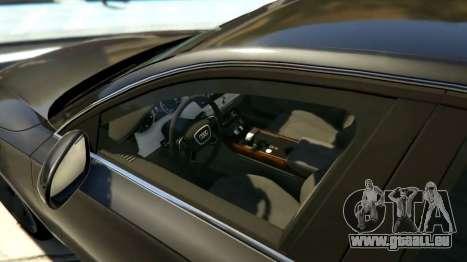 GTA 5 2010 Audi A8 FSI v4.0 linke Seitenansicht