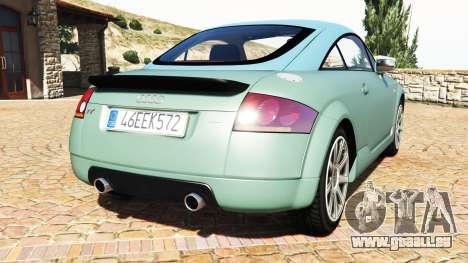 GTA 5 Audi TT (8N) 2004 v1.1 [add-on] hinten links Seitenansicht