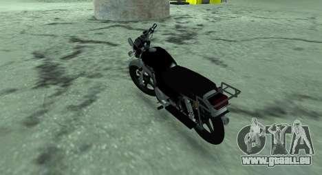 Cyclomoteur alpha v. 0.1 pour GTA San Andreas sur la vue arrière gauche