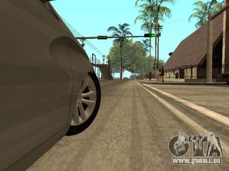 LADA Vesta BPAN für GTA San Andreas Unteransicht