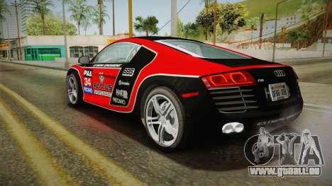 Audi R8 Coupe 4.2 FSI quattro US-Spec v1.0.0 v4 für GTA San Andreas Räder