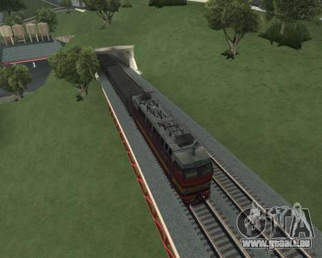 Passenger locomotive CHS4t-521 pour GTA San Andreas salon