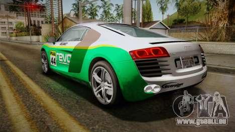 Audi R8 Coupe 4.2 FSI quattro EU-Spec 2008 Dirt pour GTA San Andreas roue