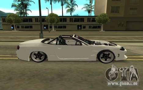 Nissan Silvia s15 Kabrio pour GTA San Andreas laissé vue