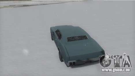 Sabre Winter IVF pour GTA San Andreas laissé vue