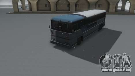 Bus Winter IVF für GTA San Andreas